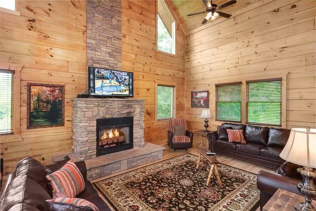 Morning Breeze Gatlinburg Chalets Cabin Rentals Tennessee