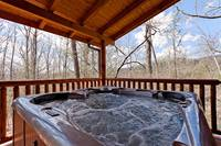 the hot tub is all yours during your stay