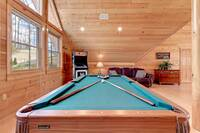 pool table and arcade game