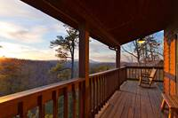 Just relax and enjoy the view of the Great Smoky Mountains between Pigeon Forge and Gatlinburg