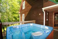 Mountain Retreat   3 bedroom cabin in  Nestled in the Arts and Crafts community, 2/10 of a mile from trolley stop