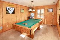 How about some pool in the gameroom downstairs