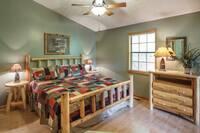 Beautiful log bedroom furniture