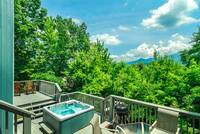 Relax in the hot tub and enjoy the view