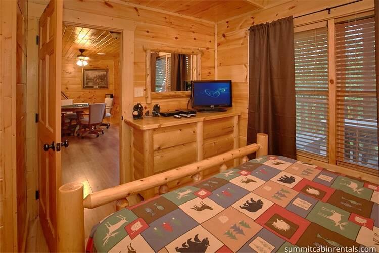 Wahoo Lodge Pigeon Forge Cabin 800 547 0948 Free Call