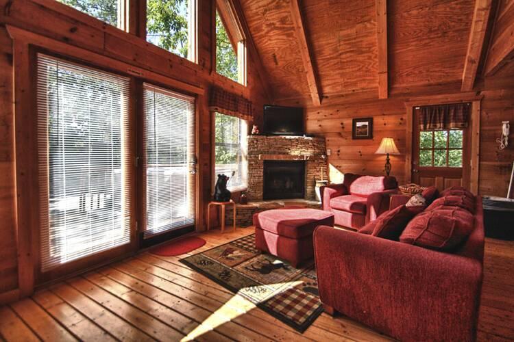 Gnarled Oak Pigeon Forge Cabin Rentals 800 547 0948