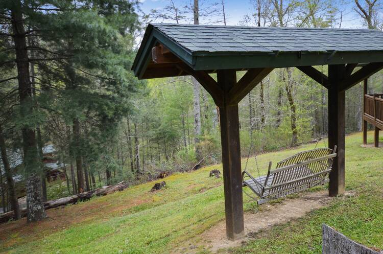 Cabin Pigeon Forge Tennessee Rustic Retreat Smoky