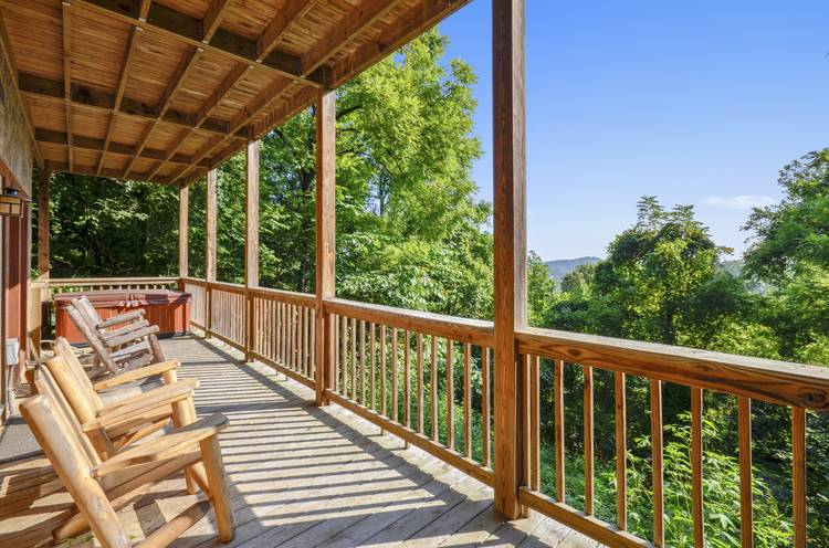 Smoky Mountain Vacation Rental Indian Summer Summit Cabin
