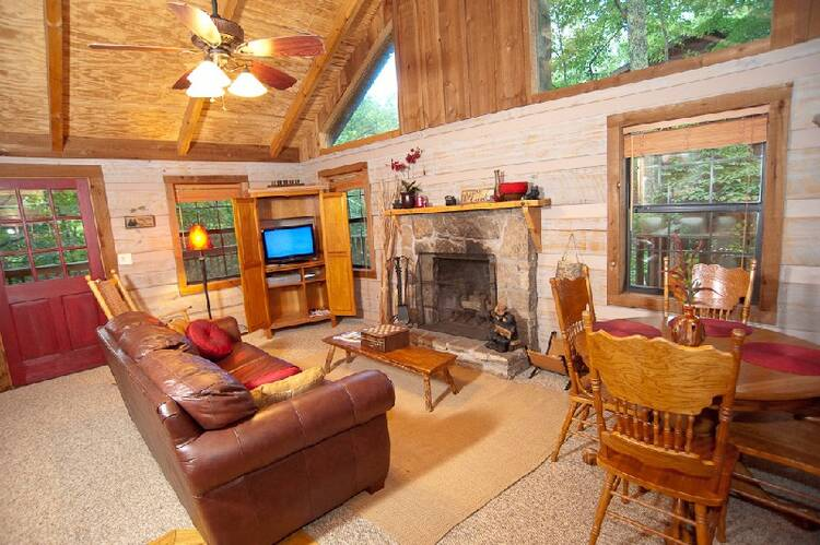 Morning Glory Pigeon Forge Cabin Rentals 800 547 0948
