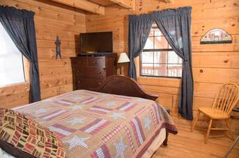 Taken at Cabin on the Mountain in Sky Harbor Resort TN