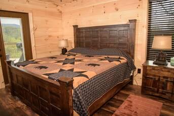 Taken at Copper Fox Cabin in Thunder Mountain TN