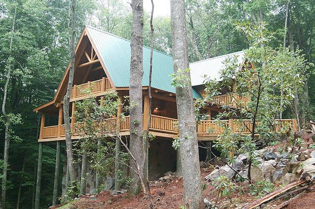 #3685 Brookside 2 Bedroom Cabin Rental