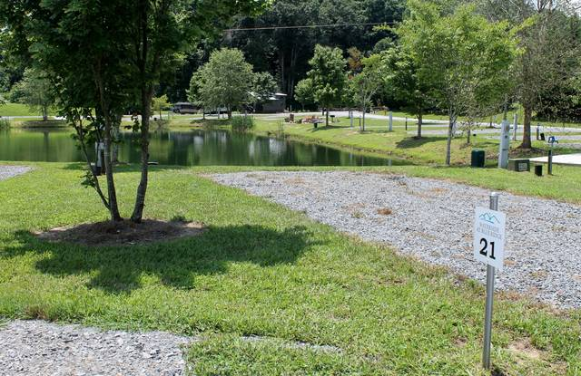 Water Front Paved Lot 21