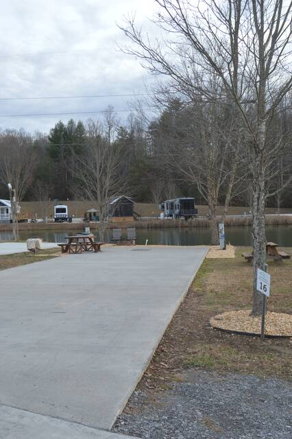 Water Front Paved Lot 16